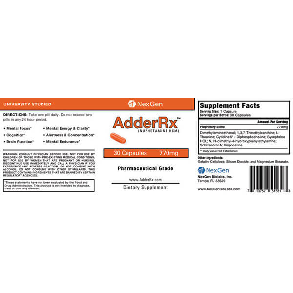 over the counter adderall substitute
