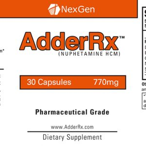 adderrx ingredients