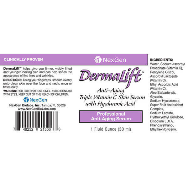 dermalift reviews & ingredients