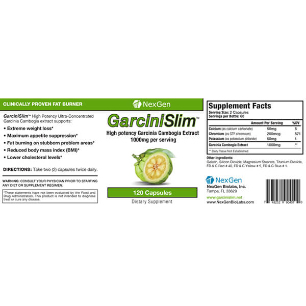garcini clim reviews & ingredients