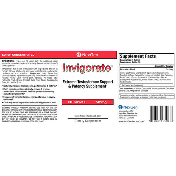 invigorate reviews & ingredients