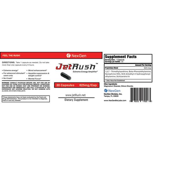 jetrush reviews & ingredients