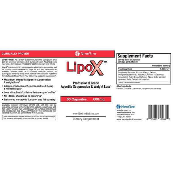 lipox reviews & ingredients