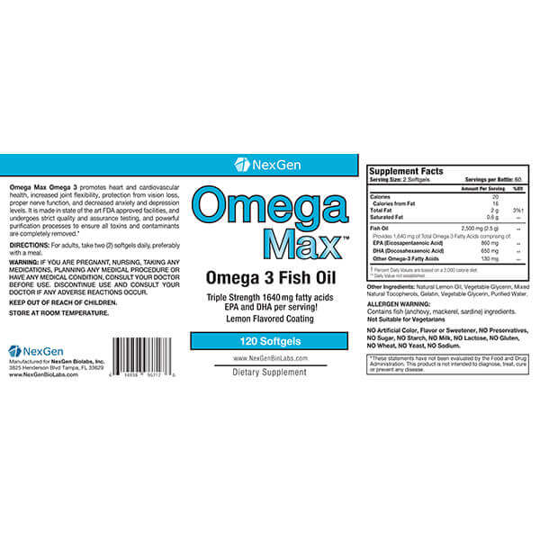 omega max reviews & ingredients