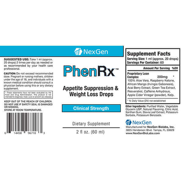 phenrx reviews & ingredients