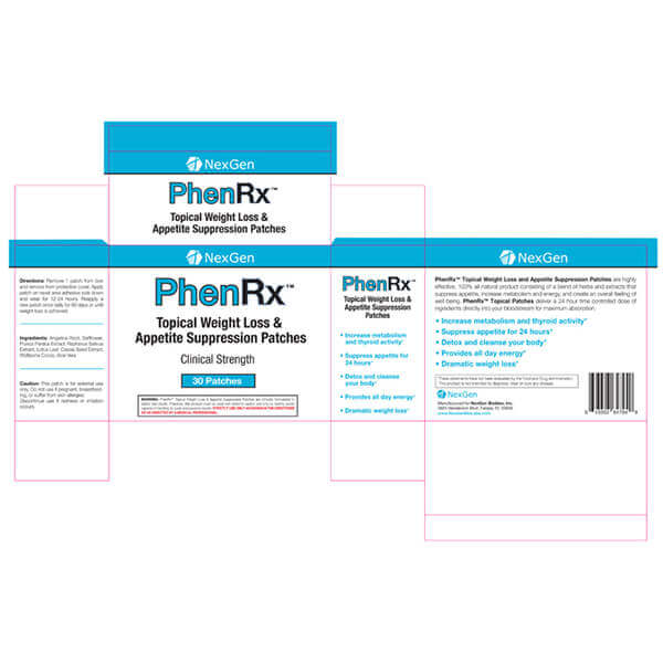 phenrx patches reviews & ingredients