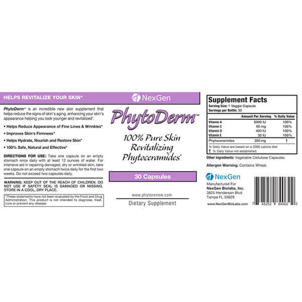 phytoderm reviews & ingredients